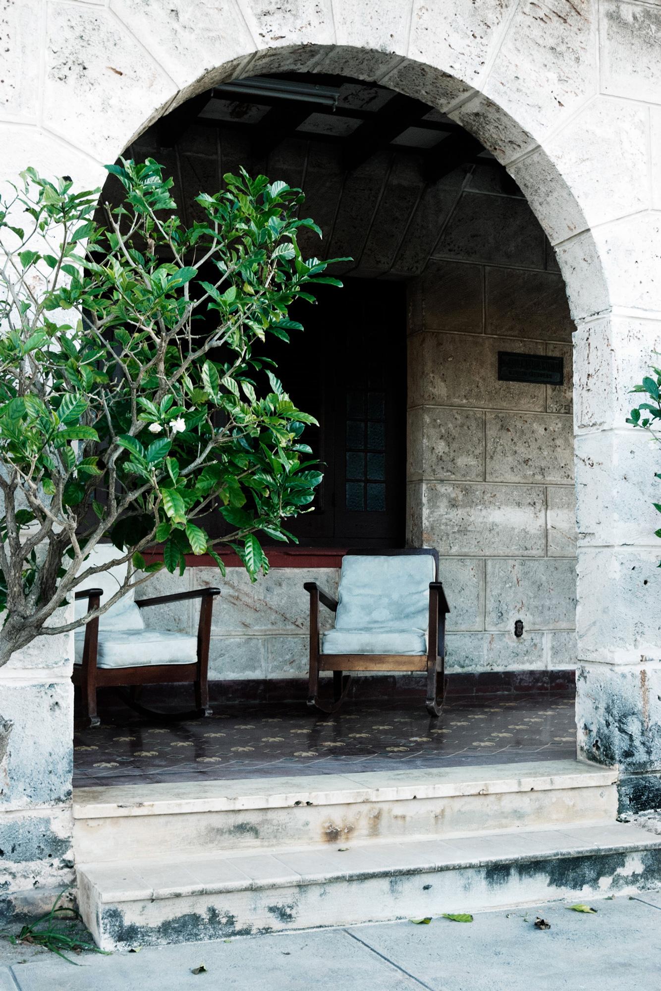 cuba maison pierre perron chaises berçantes